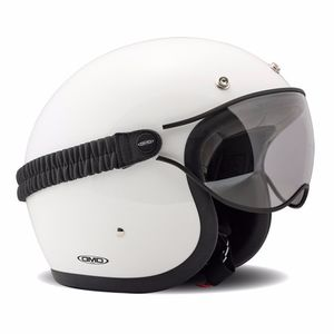 Lunettes moto GOGGLE - clair  Clear