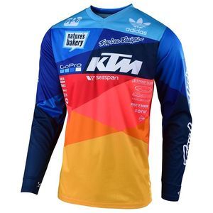 Maillot cross GP AIR JET TEAM BLEU/ORANGE 2019 Bleu/Orange
