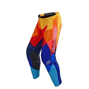 Pantalon cross GP AIR JET TEAM BLEU/ORANGE ENFANT  Bleu/Orange