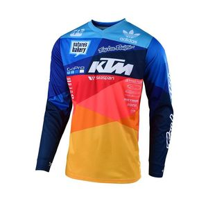 Maillot cross GP AIR JET TEAM BLEU/ORANGE ENFANT  Bleu/Orange