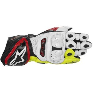 Gants GP TECH  Black/Red/Yellow