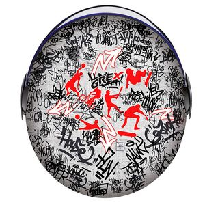 Casque G1.1 - ARTWORK - SPORT GRAFFITI  Multi