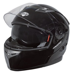 Casque GROUND UNI BRILLANT  Noir brillant