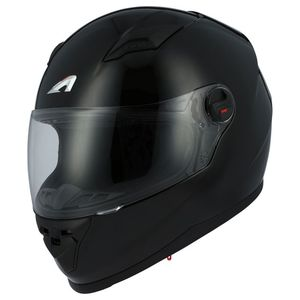 Casque GT2 MONOCOLOR  Noir brillant