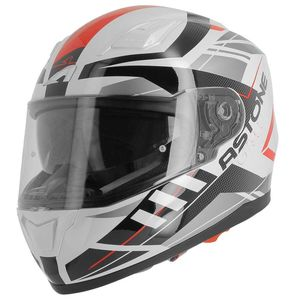 Casque GT 900 - EXCLUSIVE STREET - GLOSS  Blanc/Rouge