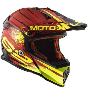 Casque cross MX437 - FAST - GATOR RED 2019 Rouge