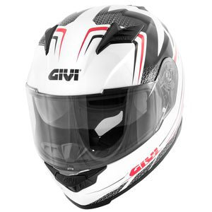 Casque Givi 50.5 Tridion Raptor White/black/red
