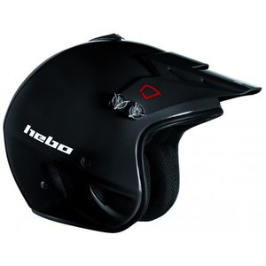 Casque trial ZONE BLACK 2019 Noir