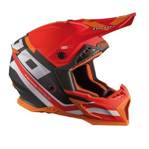 Casque cross RANSOM RED 2020 Rouge