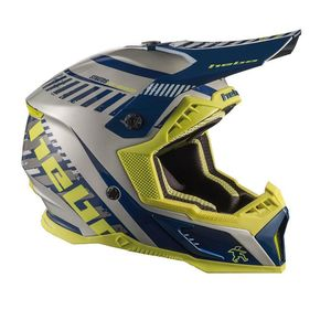 Casque cross STRATOS BLUE 2020 Bleu