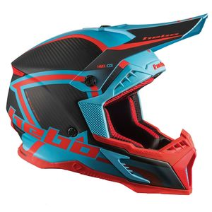 Casque cross LEGEND CARBON BLUE 2020 Bleu