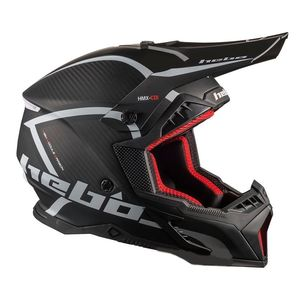 Casque cross LEGEND CARBON BLACK 2020 Noir