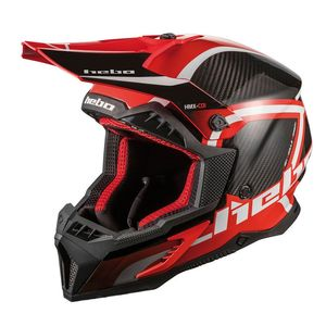 Casque cross LEGEND CARBON RED 2020 Rouge