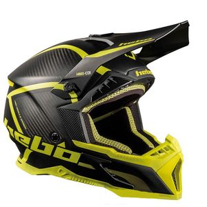 Casque cross LEGEND CARBON LIME 2020 Lime