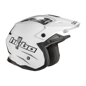 Casque trial ZONE 4 WHITE 2019 Blanc