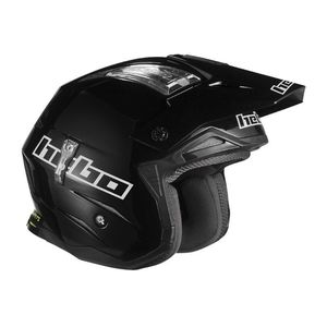 Casque trial ZONE 4 BLACK 2019 Noir