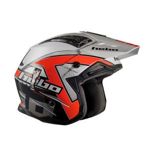 Casque trial ZONE 4 KONTROX RED 2019 Rouge