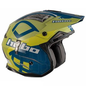 Casque trial ZONE 4 PATRICK BLUE 2019 Bleu