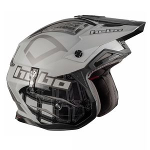Casque trial ZONE 4 PATRICK BLACK 2019 Noir