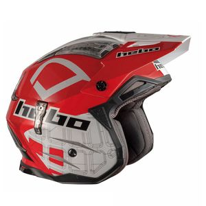 Casque trial ZONE 4 PATRICK WHITE 2019 Blanc