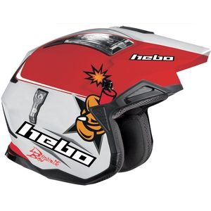 Casque trial TONI BOU REPLICA 2019 Blanc
