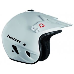 Casque trial ZONE WHITE 2019 Blanc