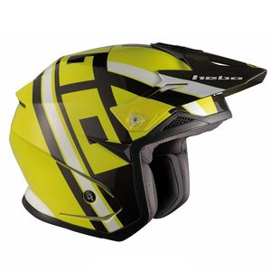 Casque trial ZONE 5 T-NINE LIME 2019 Lime