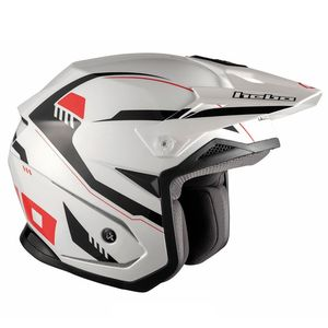 Casque trial ZONE 5 PURSUIT WHITE 2019 Blanc