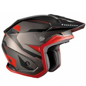 Casque trial ZONE 5 PURSUIT RED 2019 Rouge