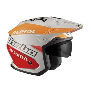Casque trial ZONE 5 MONTESA TEAM 2 2019 Blanc