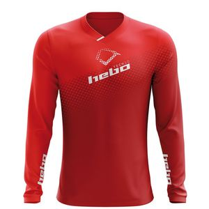 Maillot trial TECH 10 EVO RED 2019 Rouge