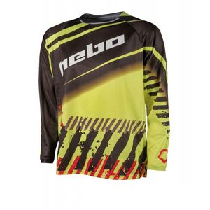 Maillot cross STRATOS LIME 2020 Lime