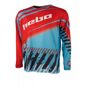 Maillot cross STRATOS BLUE 2020 Bleu