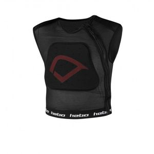 Gilet de protection SANS MANCHES DEFENDER PRO JUNIOR  Noir