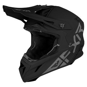 Casque cross HELIUM PRIME BLACK 2021 Black