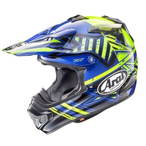 Casque Cross Arai Mx-v Star Yellow 2018