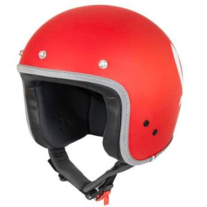 Casque VESPA COLORS  Rouge
