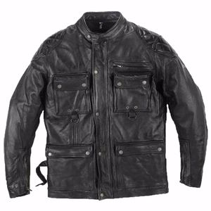 Veste Helstons Screamy - Cuir Rag