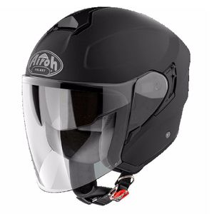 Casque HUNTER - COLOR - BLACK MATT  Noir