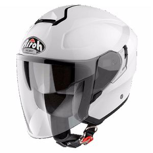 Casque HUNTER - COLOR - WHITE GLOSS  Blanc