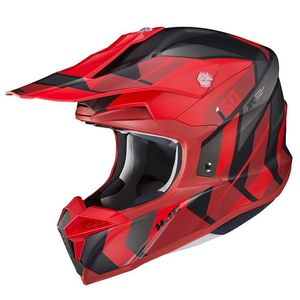 Casque cross I50 - VANISH - BLACK RED MC1SF 2021 MC1SF