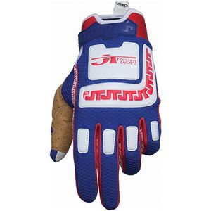 Gants Cross Jt Lifeline Bleu Rouge
