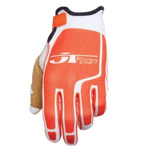 Gants Cross Jt Flex Feel Blanc Orange