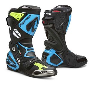 Bottes ICE PRO - MIKE DI MIGLIO  Black Blue Yellow