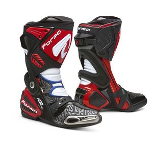 Bottes ICE PRO - PETRUCCI MOTO GP  Black Red White