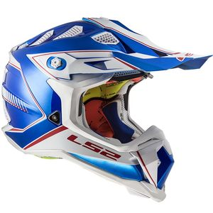 Casque cross MX470 - SUBVERTER -POWER CHROME BLUE 2019 Chrome Blue