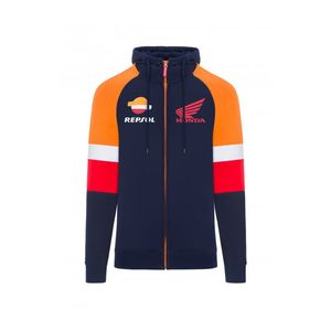 Sweat REPSOL ZIPPED  Navy Orange Red