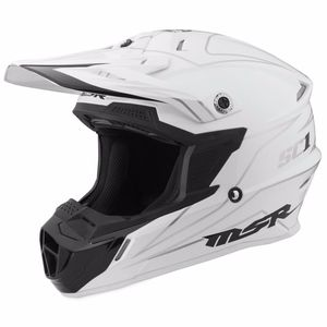 Casque cross SC1 PINSTRIPE - WHITE - 2017 Blanc