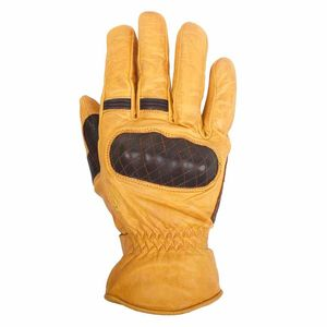 Gants MICHI - cuir SOFT  Marron/Gold