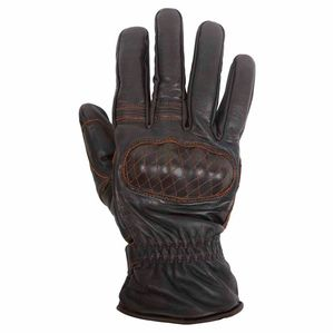 Gants MICHI - cuir PULL UP  Marron